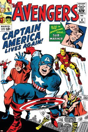 jack-kirby-avengers-classic-no-4-cover-captain-america-iron-man-thor-giant-man-and-wasp
