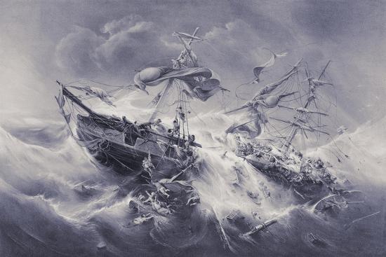 jacob-albrecht-michael-jacobs-wreck-of-the-floridian-1849
