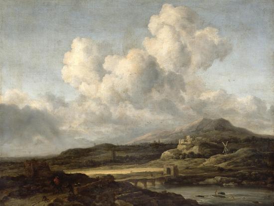jacob-isaaksz-or-isaacksz-van-ruisdael-sunny-landscape