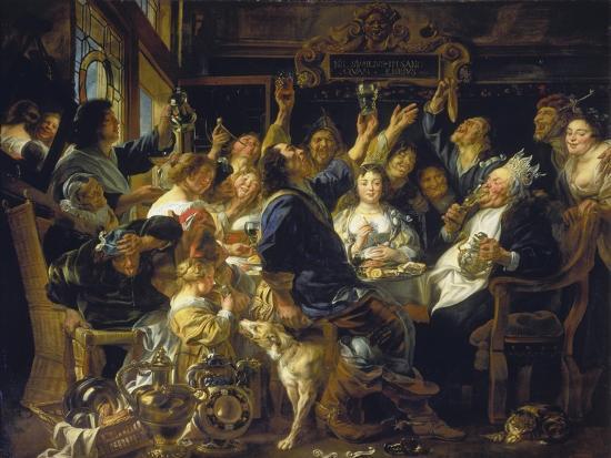 jacob-jordaens-the-bean-feast-about-1640-45