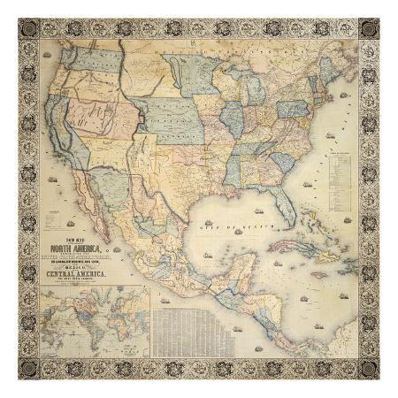 jacob-monk-map-of-north-america-1853