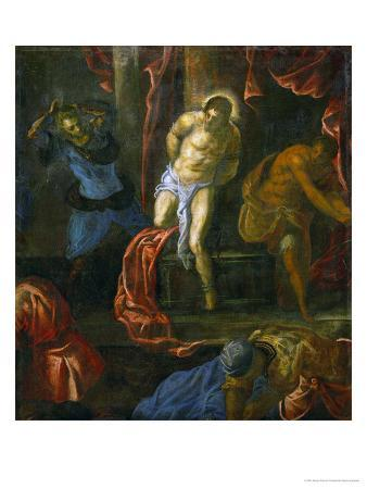 jacopo-robusti-tintoretto-the-flagellation-of-christ-from-the-late-period