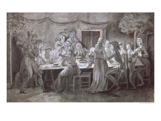 jacques-bertaux-an-evening-wedding-meal