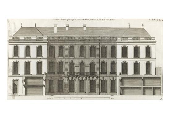 jacques-francois-blondel-planche-136-elevation-du-principal-corps-de-logis-du-cote-de-la-cour-de
