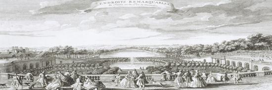 jacques-rigaud-planche-29-vue-de-l-orangerie-de-versailles-vers-1730-endroits-remarquables-du-jardin-et-du-parc