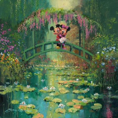 james-coleman-mickey-and-minnie-at-giverny