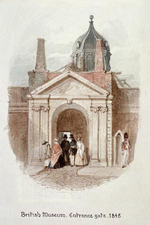 james-findlay-british-museum-entrance-gate-1848