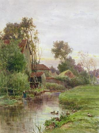 james-george-bingley-the-mill-stream