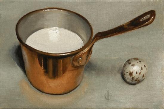 james-gillick-milk-pan-and-quail-egg-2011