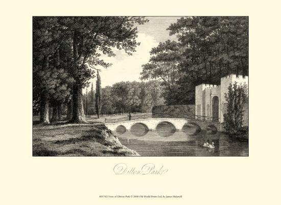 james-hakewill-view-of-ditton-park