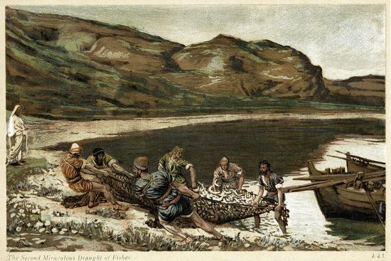 james-jacques-joseph-tissot-the-second-miraculous-draught-of-fishes-c1890