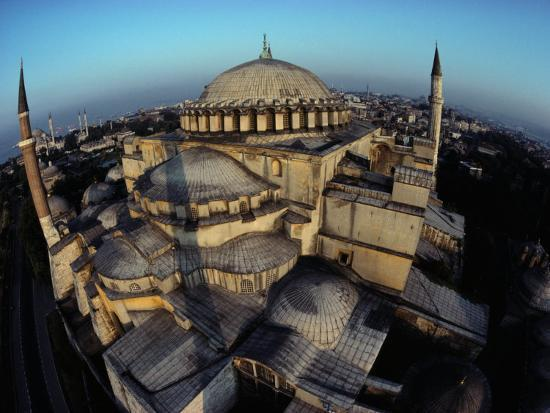 james-l-stanfield-side-domes-and-added-minarets-gather-about-the-great-vault-of-hagia-sophia