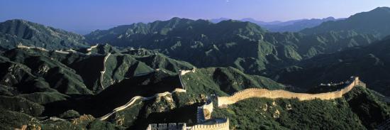 james-montgomery-flagg-panoramic-view-of-great-wall-of-china-badaling-china