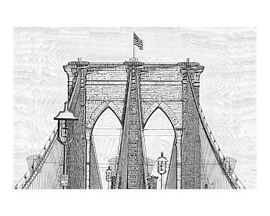 james-nesterwitz-brookyln-bridge-as-a-charcoal-drawing