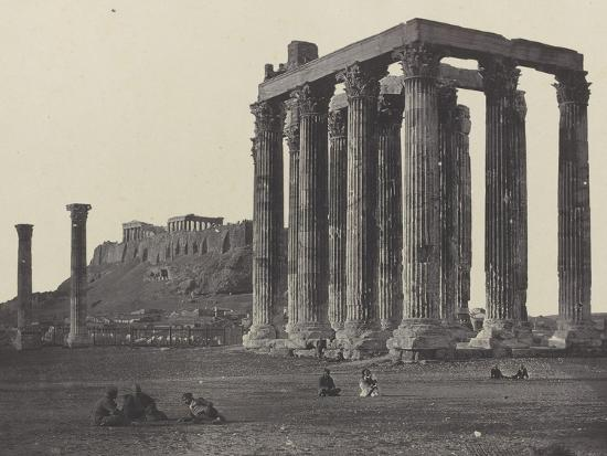 james-robertson-athenes-le-temple-de-jupiter