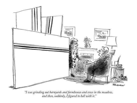 james-stevenson-i-was-grinding-out-barnyards-and-farmhouses-and-cows-in-the-meadow-and-t-new-yorker-cartoon