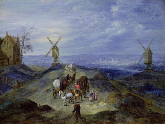 jan-brueghel-the-elder-landscape-with-two-windmills-1612