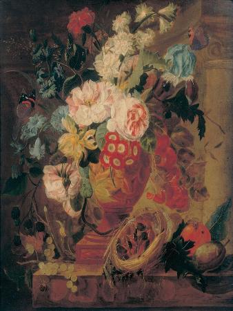 jan-frans-eliaerts-flowers-in-a-terracotta-vase-decorated-with-putti