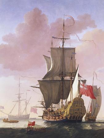 jan-karel-donatus-van-beecq-galleon-in-full-sail