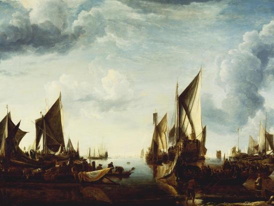 jan-van-de-cappelle-visit-of-the-stadholder-prince-frederik-hendrik-to-the-fleet-of-the-states-general-at-dordrecht