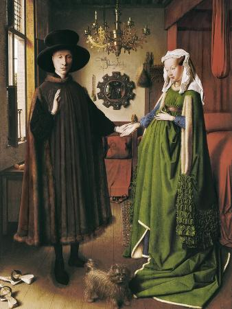 the arnolfini portrait art print by jan van eyck at artcom