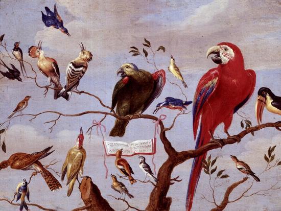 jan-van-kessel-the-elder-a-chorus-of-birds-c-1650-1675