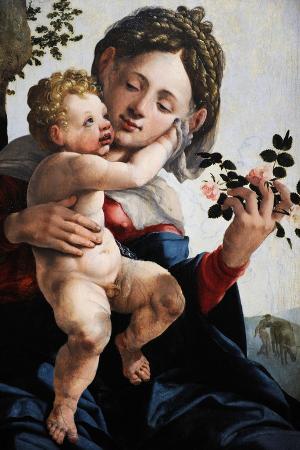 jan-van-scorel-madonna-with-wild-roses-c-1530