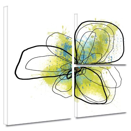 jan-weiss-citron-petals-ii-gallery-wrapped-canvas
