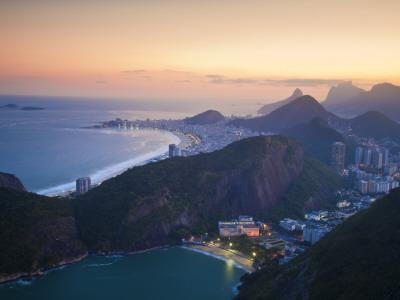 brazil rio de janeiro urca sugar loaf mountain photographic print by jane sweeney at. Black Bedroom Furniture Sets. Home Design Ideas