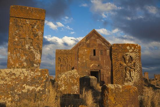 jane-sweeney-khachkars-at-noratus-cemetery-lake-seven-armenia-central-asia-asia