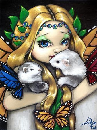 jasmine-becket-griffith-fairy-ferret-picture-two-fae-ferrets