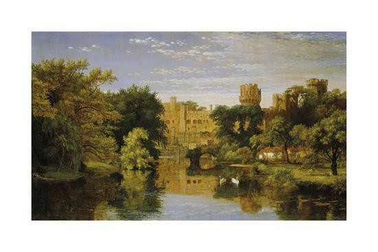 jasper-francis-cropsey-warwick-castle-england-1857