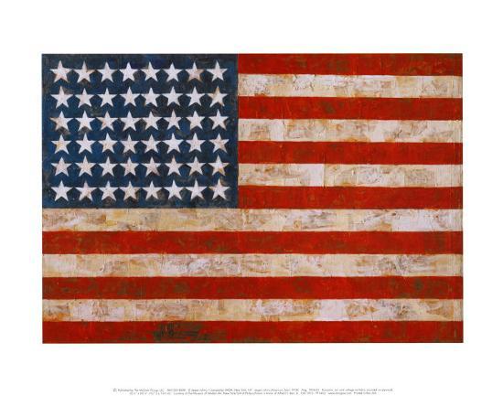 jasper-johns-flag-1954-55