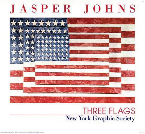 jasper-johns-three-flags-1958