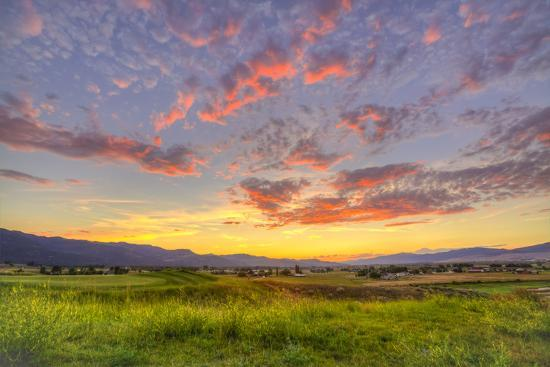 jaynes-gallery-montana-missoula-sunset-on-ranch-club-golf-course