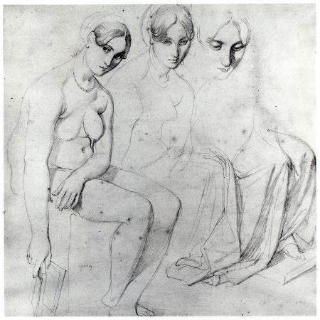 jean-auguste-dominique-ingres-study-for-francesca-da-rimini