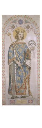 jean-auguste-dominique-ingres-vitraux-de-la-chapelle-saint-ferdinand-saint-louis-roi-de-france