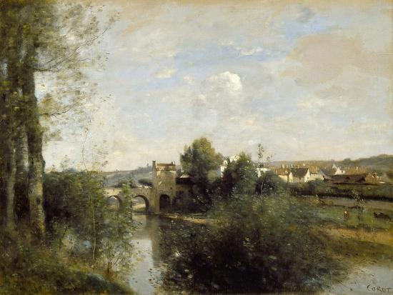 jean-baptiste-camille-corot-seine-and-old-bridge-at-limay-1872