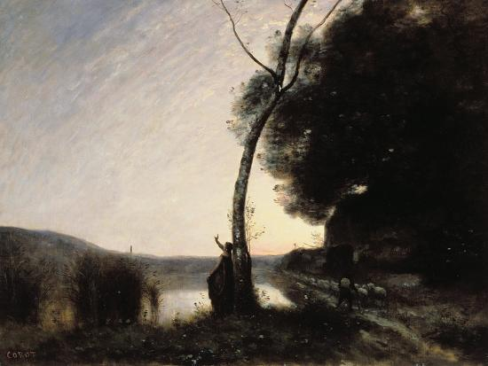 jean-baptiste-camille-corot-the-evening-star-1864