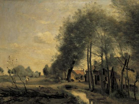 jean-baptiste-camille-corot-the-road-of-sinle-noble