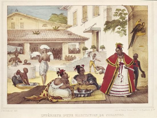 jean-baptiste-debret-interior-of-a-gipsy-s-house-brazil-1835