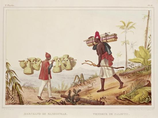 jean-baptiste-edouard-detaille-brazil-native-porters-from-picturesque-and-historical-voyage-to-brazil-1835