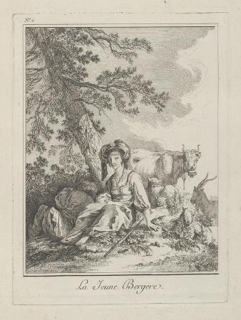 jean-baptiste-le-prince-the-young-shepherdess-plate-two-from-divers-habillements-des-peuples-du-nord-1765