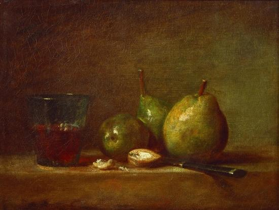 jean-baptiste-simeon-chardin-pears-walnuts-and-glass-of-wine