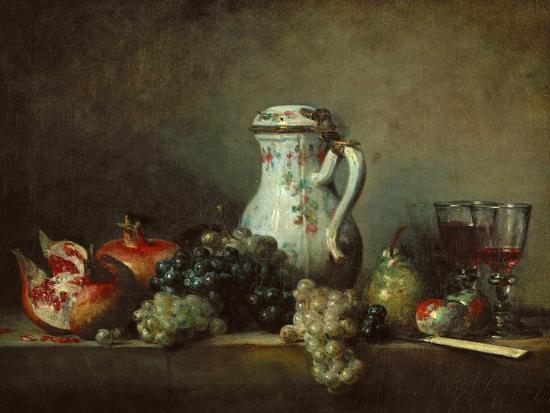 jean-baptiste-simeon-chardin-raisins-pomegranates-and-coffee-pot