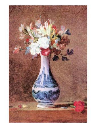 jean-baptiste-simeon-chardin-still-life-of-flowers-in-a-vase