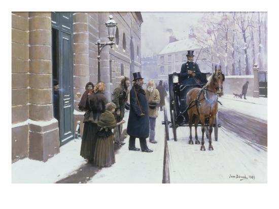 jean-beraud-la-sortie-du-bourgeois-1889