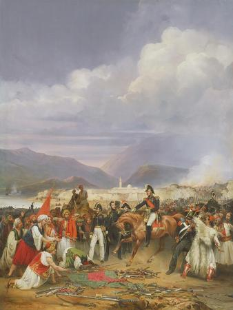 jean-charles-langlois-the-capture-of-morea-castle-30th-october-1828-1836