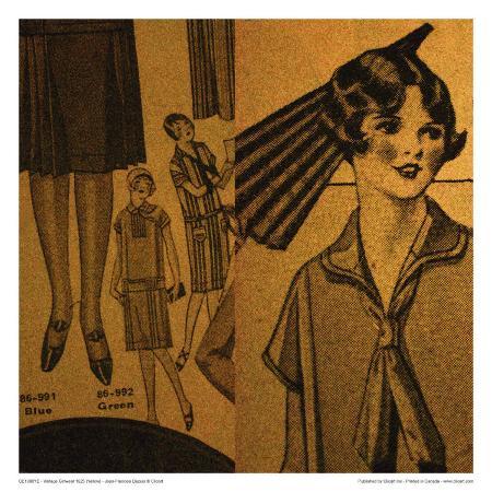 jean-francois-dupuis-vintage-girlwear-1925-yellow
