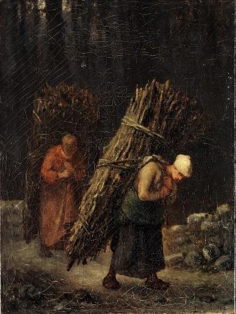 jean-francois-millet-peasant-girls-with-brushwood-c1852
